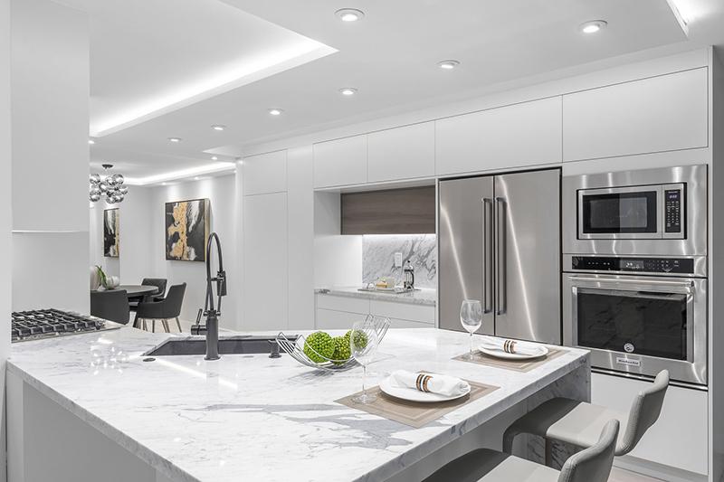 Modern renovated kitchen 2019