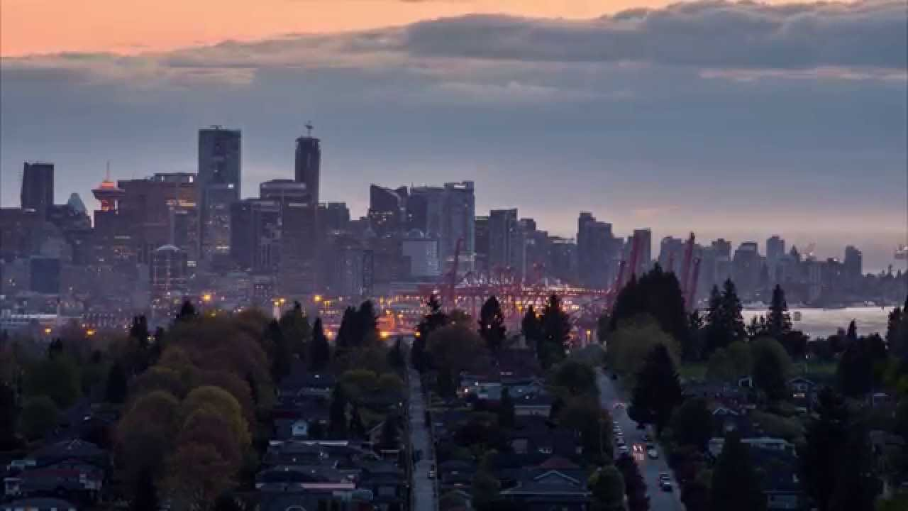 burnaby, capitol hill, vancouver, skyline
