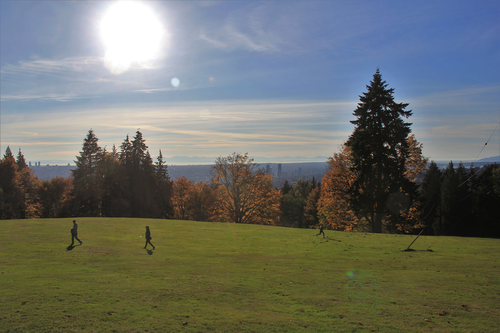 burnaby, burnaby mountain, park