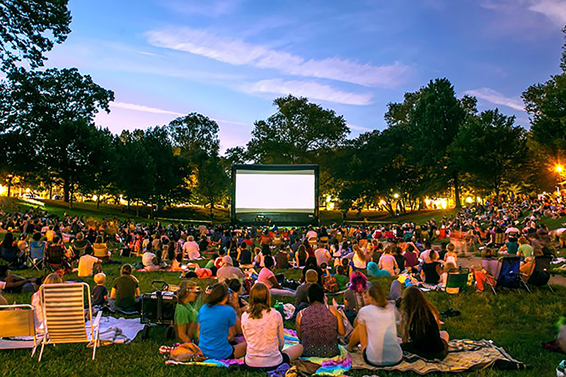 fresh air cinema, movies, outdoor, vancouver, 2019