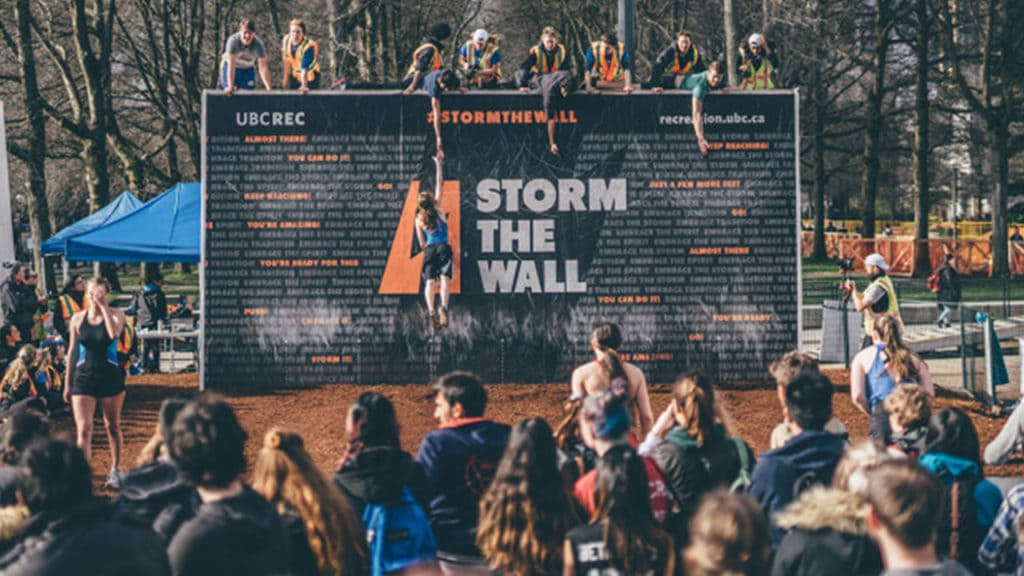 ubc, storm the wall, student, tips, university