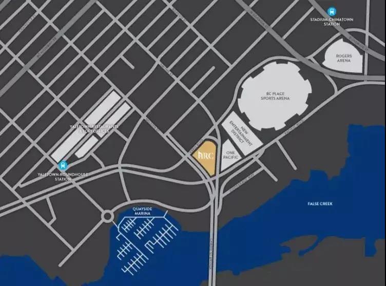 The Arc 地图