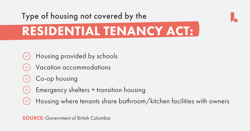 residential tenancy act,
