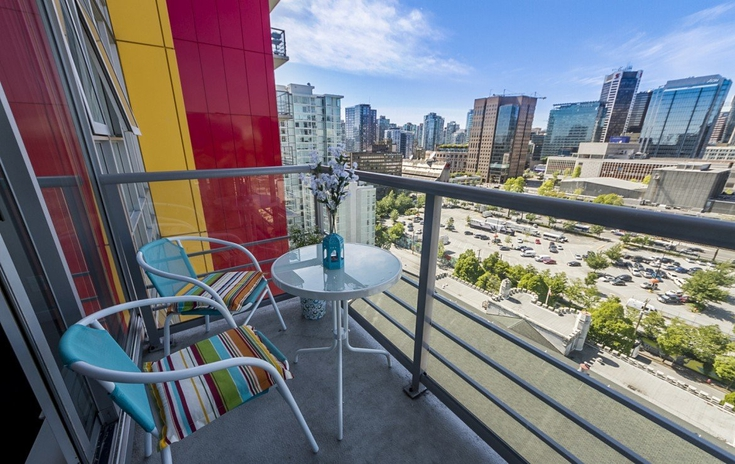 2 bed 2 bath downtown Vancouver home for rent