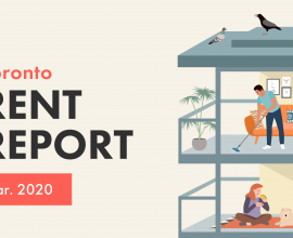 Toronto Rent Report March 2020