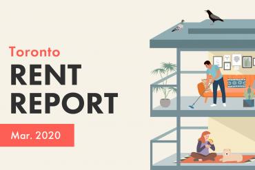 Toronto Rent Report March 2020