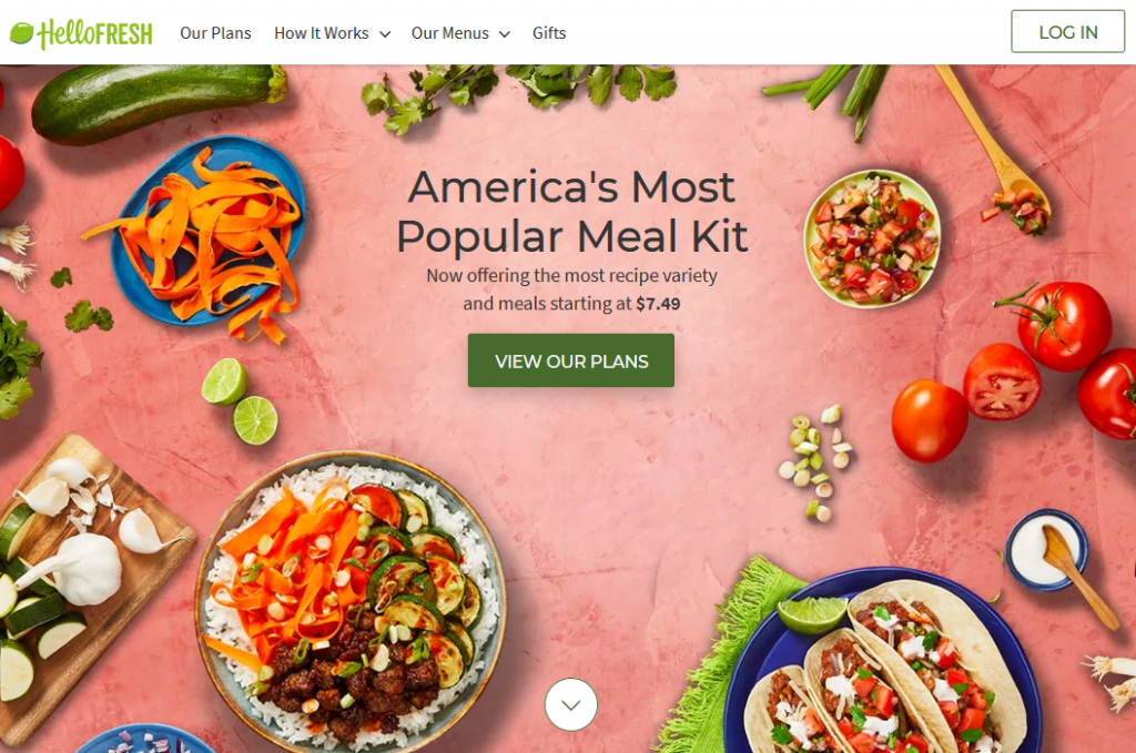 Hello Fresh https://www.hellofresh.com