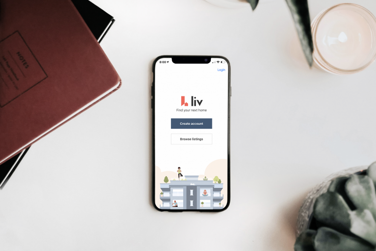 liv.rent - digital rental app - landlords and renters