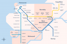 Average Rent, Vancouver, Transit, Rental Prices, Canada Line, Expo Line, Millennium Line