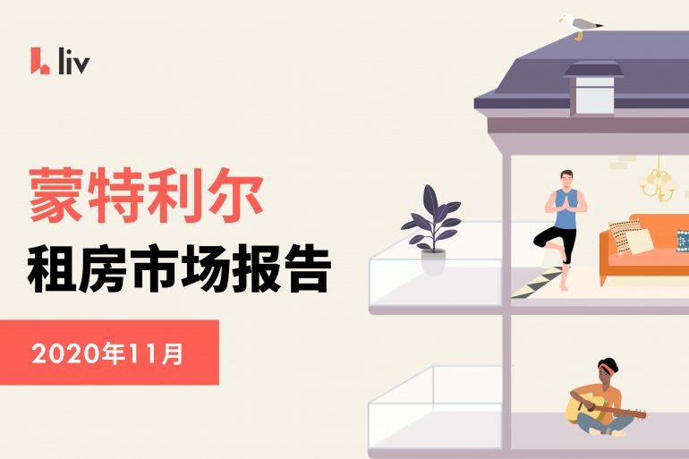 2020年11月蒙特利尔房租榜 图源:www.liv.rent