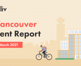 Vancouver rent report for March 2021.