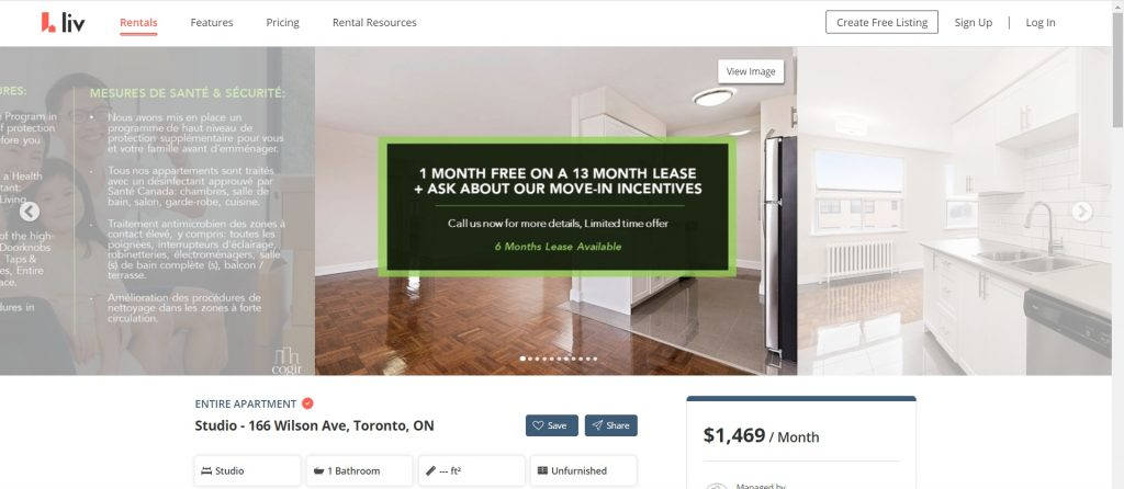 rental incentive apartments in toronto.