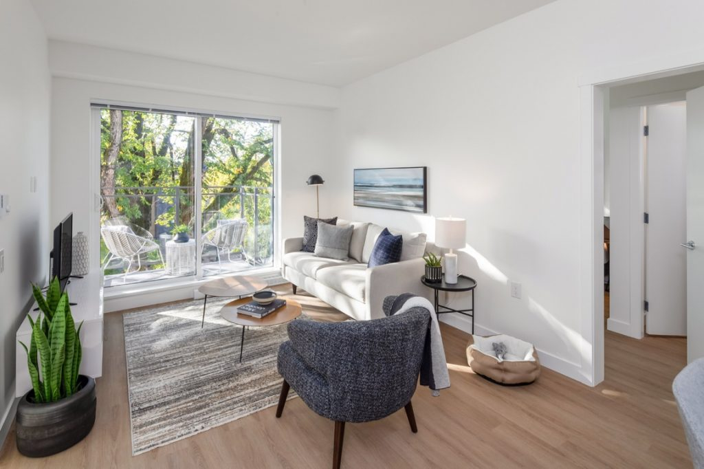 A student-friendly one-bedroom apartment for rent in Vancouver's Kitsilano.