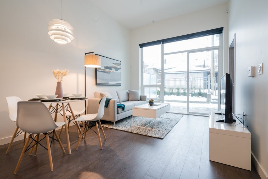 A student friendly two-bedroom for rent at Marine.