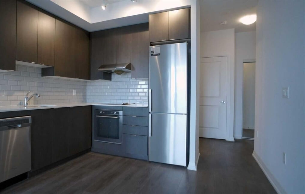 A two-bedroom apartment for rent in North York.