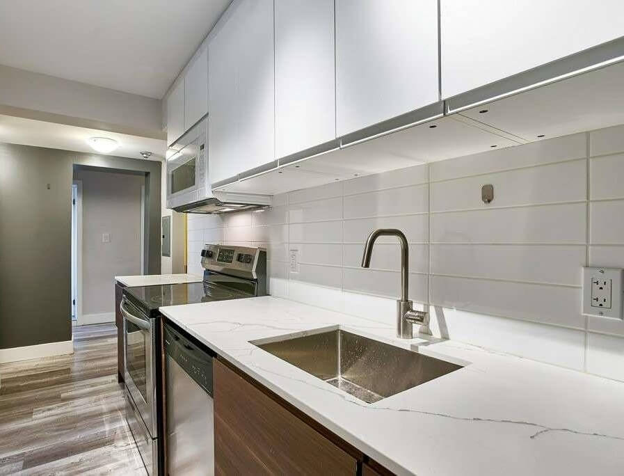 A two-bedroom apartment for rent in Etobicoke.