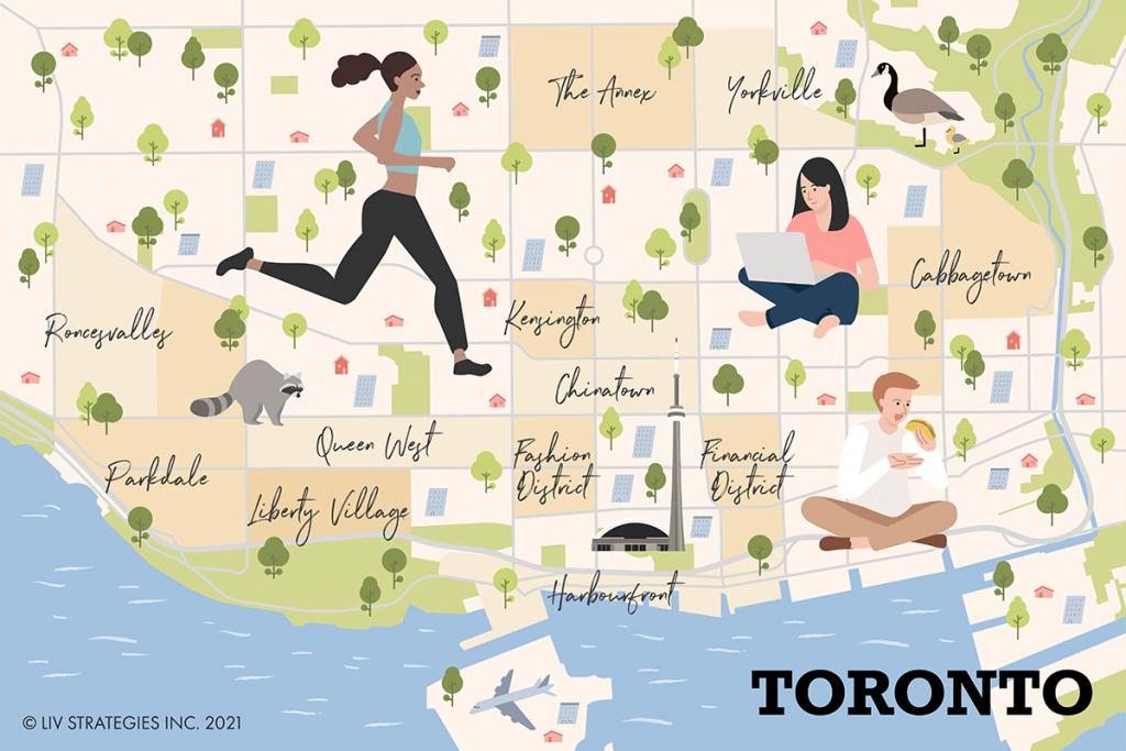 Renting in Toronto's different neighbourhoods
