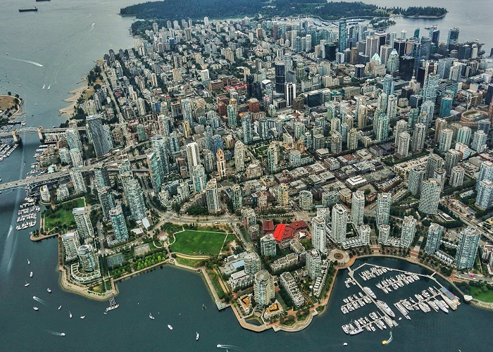 Renting in a city like Vancouver.