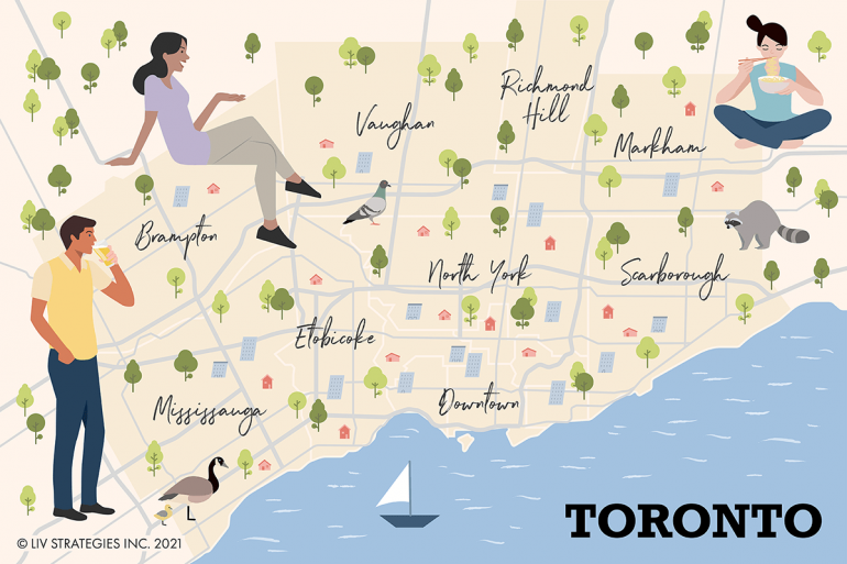 Neighbourhoods in Toronto - which is the most affordable?