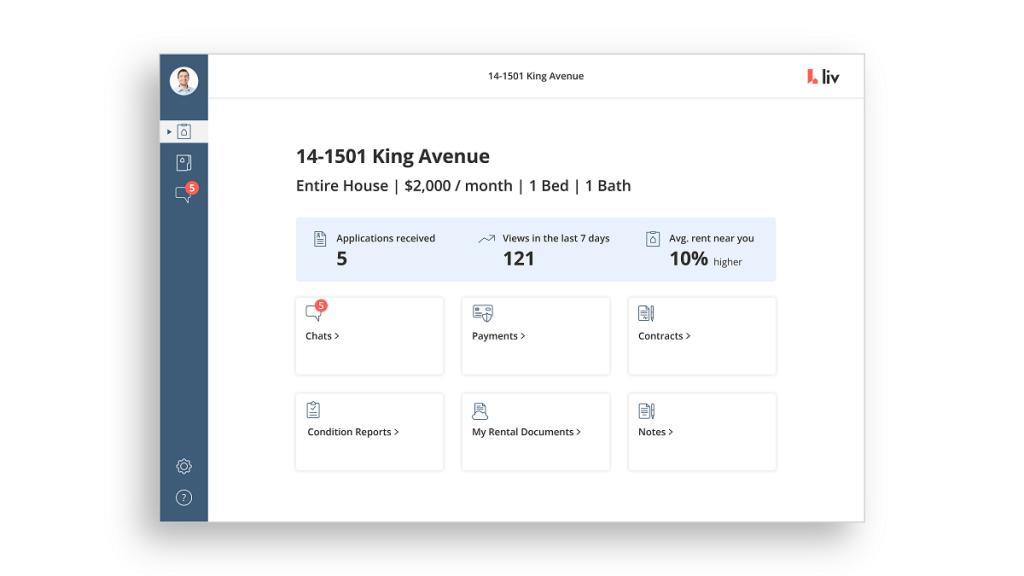 store all your rental documents on liv.rent
