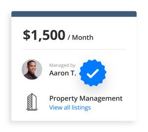 Verify your profile on liv.rent