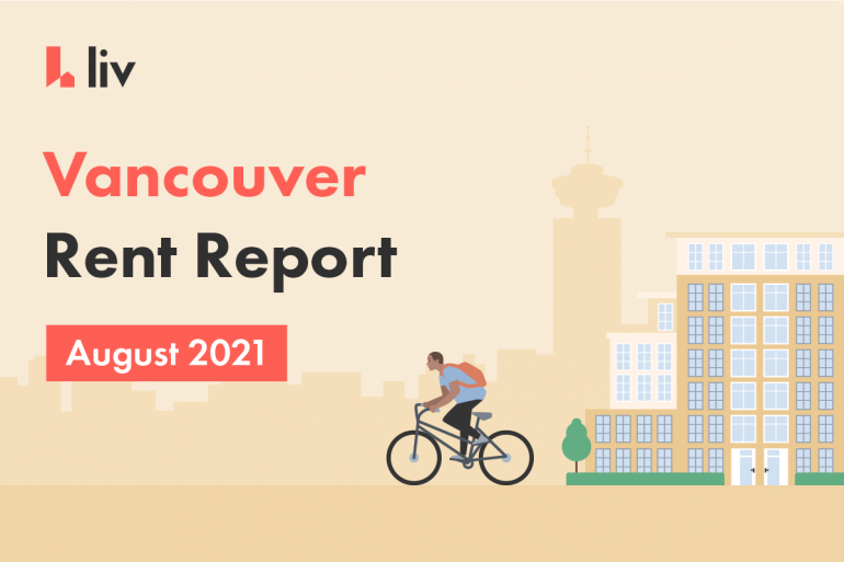 Vancouver rent report for August 2021