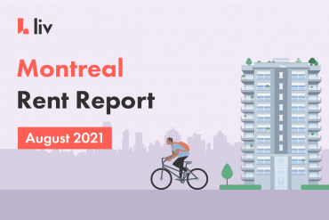 Montreal rent report for August 2021