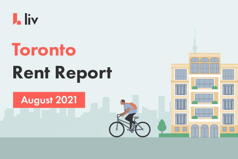 Toronto August rent report 2021