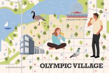 Olympic village neighbourhood guide