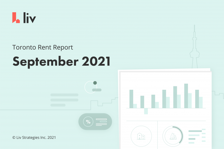 Toronto rent report for september 2021