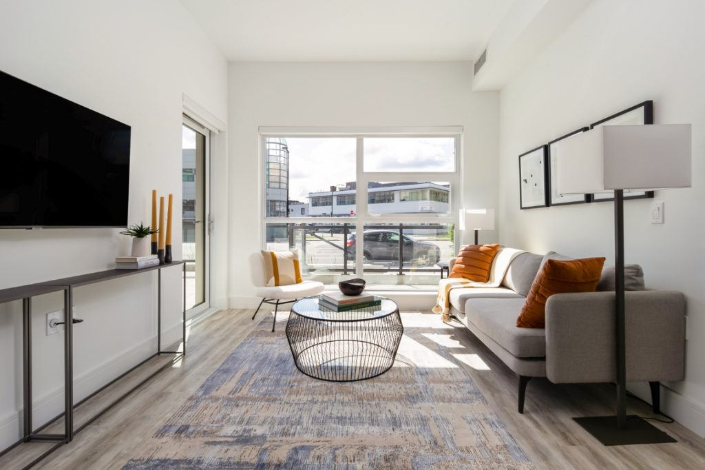 Two-bedroom suites for rent in Olympic Village.