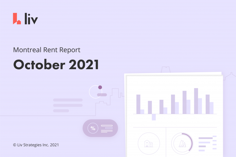 montreal rent report from liv rent october 2021
